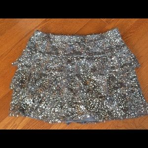 Sequin express skirt size small
